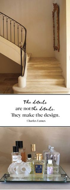 The details are not the details. They make the design. Charles Eames - Vicki Archer // http://vickiarcher.com/2015/02/use-interior-designer-not/