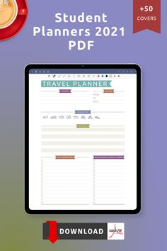 Use this collection of Free Printable Student Planners 2021 PDF Templates to get things done easily and stay organized at work, college and life. Enjoy the simplicity and achieve more with the planners every single day. Save money and get organized. Day Planner Template, Weekly Meal Plan Template, Monthly Budget Template, Student Planner Printable, Checklist Template, Teacher Planner, At A Glance Planner, Hourly Planner, Goal Setting Template