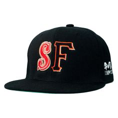 """4Fifteen and theFword collaborate on the """"Hella SF"""" snapback repping both SF teams. $30.00"""