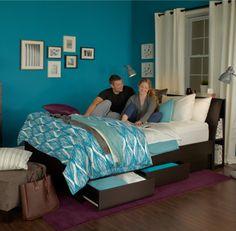 MASTER BEDROOM - blue bedroom?