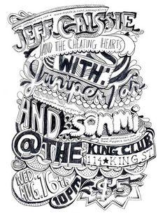 Typography design by Julia Sonmi Heglund