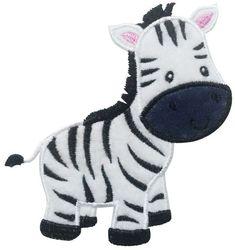 Instant Download Zebra Applique Machine Embroidery Design NO:1224 $2.99