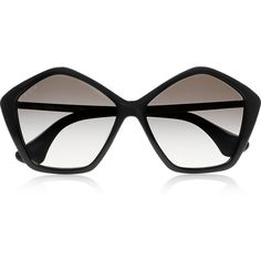 Miu Miu Hexagonal-frame acetate and metal sunglasses- It would be a dream to have these!!!