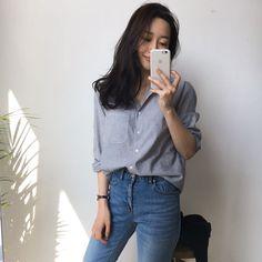 korea fashion outfits which look fab 406278 Korean Fashion Trends, Korean Street Fashion, Korea Fashion, Trendy Fashion, Style Fashion, Casual Outfits, Fashion Outfits, Cute Outfits, Fashion Ideas