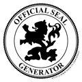 Image maker: seals, badges, concert tickets, posters, cassette labels, etc.