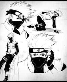 Naruto - Kakashi Hatake by CuBur.deviantart.com on @deviantART