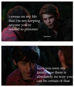 This is true. Peter needs to be more certain when it comes to Henry's family (considering that he himself is actually a member of his family).