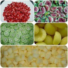 Frutas varias congeladas