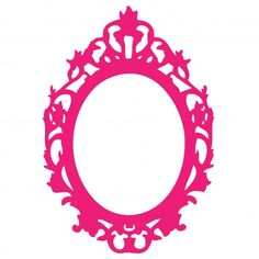 Ornate Pink Frame Clipart Free Stock Photo - Public Domain Pictures