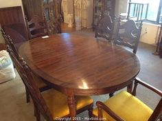 Maxsold  Auction Bath Downsizing Online Auction  Knechtel Delectable Dining Room Chairs San Antonio Design Inspiration