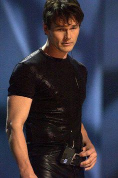 ahabutterfly:  Very very sexy and so tender too ! I fall for him !!   His name is Morten Harket…. the voice of a-ha….