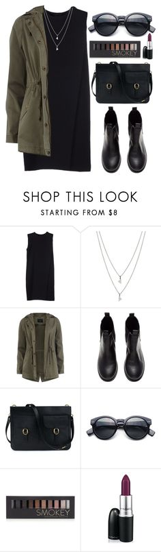 """#22"" by mandyhoran1 ❤ liked on Polyvore featuring Alexander Wang, Eva Fehren, Dorothy Perkins, H&M, Forever 21 and MAC Cosmetics"