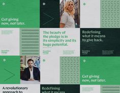 Brand New: New Logo and Identity for Founders Pledge by Mast branding Logo And Identity, Visual Identity, Brand Identity, Museum Identity, Corporate Design, Branding Design, Brochure Design, Corporate Branding, Tech Branding