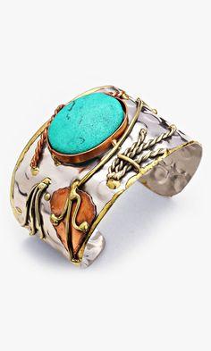 Turquoise Howlite Enna Bracelet #enna #sicilia #sicily