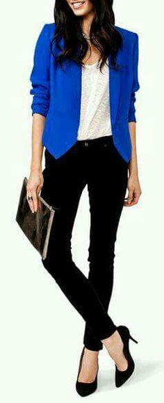 Negro- azul