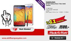 Media Markt'te Samsung Galaxy Note 3 Neo Akıllı Telefon % 11 İndirim ile Sadece 1599 TL!!!