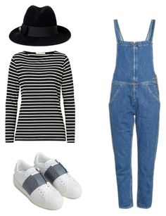 A walk by nariviahoyos on Polyvore featuring polyvore, fashion, style, Betty Barclay, M.i.h Jeans, Valentino, Gucci and clothing