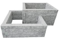Hochbeet Bausatz aus Granit-Stein Raised bed kit made of granite stone – the dream of a decorative raised bed can be put into action even without special expertise. Raised Bed Kits, Stone Raised Beds, Raised Garden Beds, Front House Landscaping, Modern Landscaping, Granite Stone, Terrarium Diy, Pallets Garden, Rustic Gardens