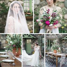 Romantic Al Fresco Wedding Ideas Inspired by Tuscany