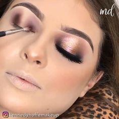 Fancy Makeup, Glam Makeup Look, Creative Eye Makeup, Glamorous Makeup, Makeup For Burgundy Dress, Sweet 16 Makeup, Formal Eye Makeup, Heavy Makeup, Makeup Looks For Brown Eyes