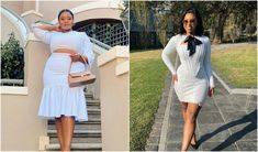 The autumn season is in full swing and there is one colour that a few of our faves just can't stop wearing. The post The colour these celebs can't stop wearing this season appeared first on All4Women. South African Celebrities, Fall Season, One Color, Celebrity Style, Celebs, Seasons, Canning, How To Wear, Beauty