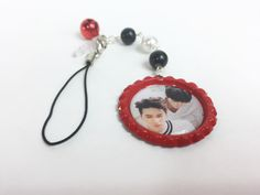 Vixx Leo and Ken Kpop cell phone charm with two way phone strap and dust plug by PinkMochiFluff on Etsy https://www.etsy.com/listing/448909806/vixx-leo-and-ken-kpop-cell-phone-charm