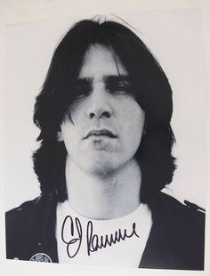 C.J. Ramone RAMONES Signed Autograph 8x10 Photo CJ C. J.
