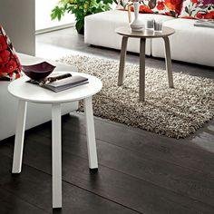 Modern round coffee/side table Gioia I by La Primavera