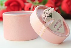 100pcs/lot Romantic Lavender Candy Box Cylindric Candy Box Wedding Party Gift box