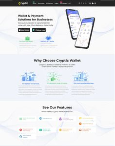 Cryptic - Cryptocurrency WordPress Theme - ModelTheme Corporate Strategy, Coin Wallet, Cryptocurrency, Wordpress Theme, The Fosters