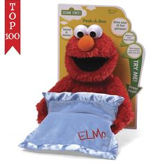 "Sesame Street Elmo Peek A Boo Sound And Motion 15"" Plush # 4038770 Gund  #GUND"