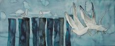 Möwenflug bei kaltem Wetter (c) Aquarell von FRank Koebsch Baltic Sea, Watercolor Paintings, Watercolors, Spring, Pictures, Atelier, Watercolor Painting, Cold Weather, Winter Scenery