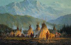 HowardTerpning - Crow Camp, 1864