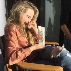 "[sabrina carpenter] ""I am sabrina, call me sabby. I'm 17 years old. I am in my last year of high school. I love romance, party's, campfires and a lot more! I am a singer so yes I'm in choir. I am single but looking. Come say hi"""