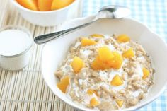 Remember back in January when you had all the good intentions of eating uber healthy for the rest of the year? And remember when you totally ODed on oatmeal during that time? Well, you were doing it all wrong! Oatmeal is a blank canvas just waiting for you to paint it up with peaches, carrots and bacon... yes, bacon. So ready your spoons and bowls. We're dishing out a hearty helping of flavor.