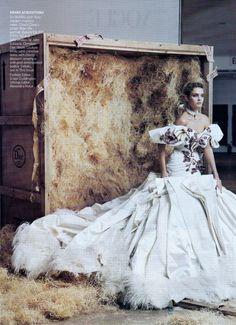 US Vogue November 2004 High Art Ph: Annie Leibovitz Model: Natalia Vodianova