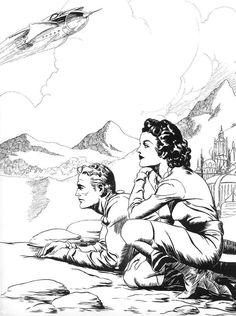 Flash Gordon Comic, Comic Art, Comic Books, Anatomy Drawing, Panel Art, Ink Illustrations, American Comics, Comic Strips, Sci Fi