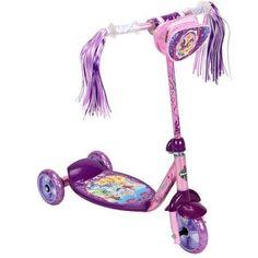 Huffy Disney Princess 3-Wheel Preschool Scooter, Pink/Purple - Walmart.com