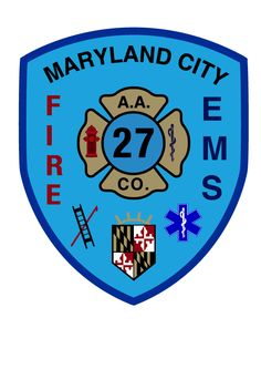 Maryland City Volunteer Fire Department #patches #fire #setcom #ems #rescue #emergency #volunteer http://setcomcorp.com/twin-talk-fire-wireless-headset.html