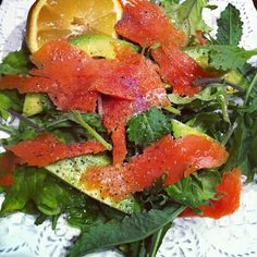 Just Jessie B: Smoked Salmon Salad with Avocado
