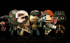 littel big planet | Metal Gear Solid - Action Games Wallpaper Image featuring ...