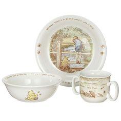 BuyWinnie The Pooh Breakfast Set Online at johnlewis.com