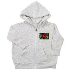 Red rose Toddler Zip Hoodie> Baby> nature t-shirts