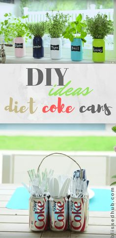 3 Amazing DIY Ideas for Diet Coke Cans