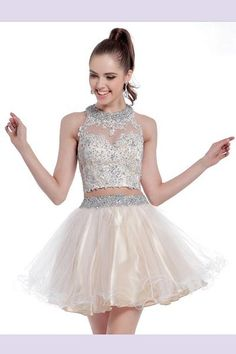 Prom Dresses Evening Dresses piece short outfit featuring a crop top of sheer illusion on sweetheart bodice Crop Top Outfits, Short Outfits, Evening Dresses, Formal Dresses, Wedding Dresses, Quince Dresses, Short Skirts, Homecoming Dresses, Crop Tops
