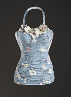 Swimsuit (part of playsuit), DeWeese Designs, 1952.