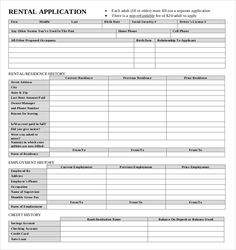 The specially designed template really contains 2 different forms such as one page basic application as well as longer detailed version. The second type helps you to collect additional details regarding the applicant.