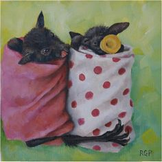 Baby Bats (reference photo by Tolga Bat Hospital)   RG Pettit