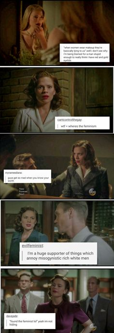 Peggy Carter + feminist posts