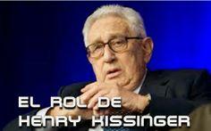 El ex Secretario de Estados Unidos y consejero asesor de varios presidentes, Henry Kissinger, ha sido y es el hombre que más a marcado la traza y el lineamiento internacional desde hace varias décadas, tanto en el plano político como económico.  Nuevos documentos de lo sucedido en Chile -1973-, con la caída de Salvador Allende, han salido a la luz para dar precisión histórica, indicando el rol que tuvo el entonces Secretario de Estado Kissinger... Ver más...